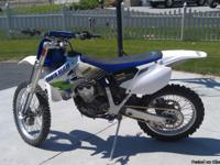 2003 yzf 450 ready to ride. This bike has new chain ,