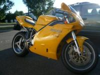 **JUST REDUCED TO $6,400!!** 2003 Ducati 748 biposto.