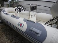 Beautiful Avon SE 360 DLX Honda 30 HP 4 Stroke Outboard