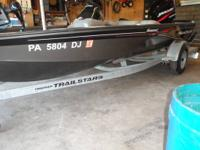 2003 BASS TRACKER V18 ALUMINUM TOURNAMENT V-HULL