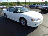 Monte Carlo SS. White Beauty! Low Mileage! Imagine