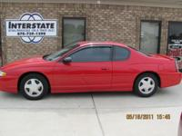 Options Included: N/A2003 Chevrolet Monte Carlo SS Red,