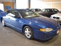 2003 Chevrolet Monte Carlo SS Sellers Notes NO MATTER