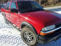 2003 Chevrolet S10 4x4 ZR5,overall this truck is in
