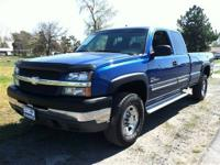 The Silverado 2500HD LS Extended Cab is the