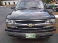 2003 Chevy Tahoe 5.3L FFV v-8 vortec engine. Black in