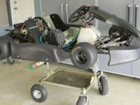 2003 CRG Racing Kart with Rotax 125cc Engine ? COMPLETE