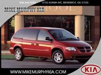 This RED 2003 Dodge Caravan SE might be just the mini