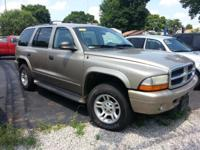 2003 DODGE DURANGO SLT 4X4 AUTO WITH 156K MILES ON A