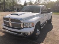 Bright White Clearcoat 2003 Dodge Ram 3500 SLT DRW 4WD