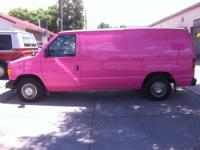 2003 Ford Econoline Van PINK! Perfect delivery vehicle