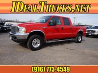 Options:  2003 Ford F-250 Super Duty Crew Cab 4X4 Xlt