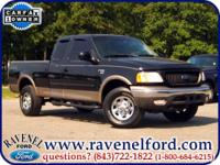 Options Included: 2003 Ford F-150 Lariat Supercab 4x4