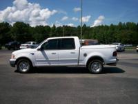 Local trade. Loaded. 2003 Ford F150 SuperCrew Lariat