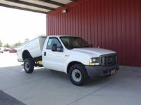 Options Included: N/A2003 F250 REG CAB DUMP BED, CARFAX