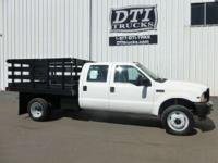 Very Nice Good Running Flatbed With Only 91K Miles!