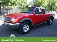 Affordable 2003 Ford Ranger. J.D. Power and Associates