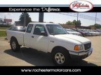 2003 Ford Ranger XLT, 4WD with 137,055 miles. This two