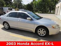 2003 Honda Accord EX-L, 4D Sedan, 3.0 L V6 SOHC VTEC