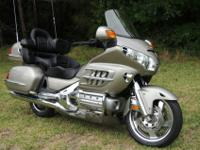 2003 Honda Goldwing GL1800 that has only 17,498 miles