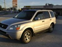 This is a 2003 Honda Pilot EXL in fantastic condition