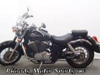 2003 Honda Shadow ACE VT750 with 13,300 Miles. This is