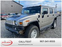 We are selling a 2003 Hummer H2 4x4. This Hummer has