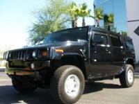 Description Make: Hummer Model: H2 Year: 2003 VIN