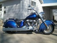 For sale: 2003 Indian Chief. 100cu. 1683cc. Includes a