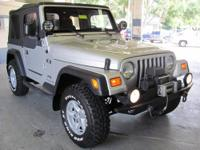 ** ABSOLUTLY MINT 2003 JEEP WRANGLER X** 4.0L I6 **