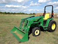 Here's my 2003 John Deere 4310 4x4 Tractor MFWD with