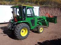 2003...John Deere JD 4410...4x4 Compact Tractor with