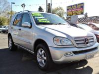 2003 Mercedes ML AWD Navigation System LIKE