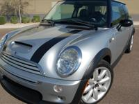 Make: Mini Model: Cooper Trim: S Released: 2003 Engine: