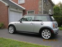 2003 Mini Cooper S, 6-Speed, Sports Package, Silver,