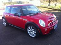 THIS IS AN EXTREMELY 2003 MINI COPPER S HATCHBACK. IT