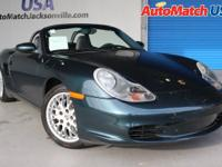 This outstanding example of a 2003 Porsche Boxster