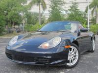 This is a Rare find 2003 Porsche Boxster Tiptronic