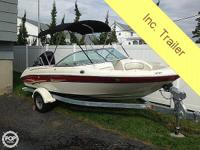2003 Sea Ray 182, This sassy open bow runabout is easy
