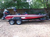 2003 SKEETER TZX  WITH 175 V-MAX YAMAHA AND CUSTOM