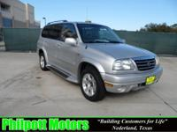 Options Included: N/A2003 Suzuki XL-7, silver with gray