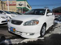 This 2003 Toyota Corolla 4dr Sdn S Auto Includes Low