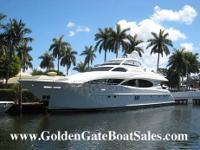 2004, 106' LAZZARA MOTOR YACHT Raised Pilot House For