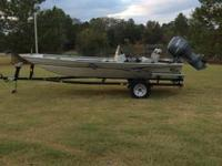 I have a 2004 17ft G3 with a 60hp Yamaha Four Stroke