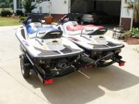 FOR SALE TWO Kawasaki Jet Ski STX-15F 4 Stroke 2004 & &