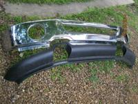 2004-2008 Ford truck front chrome bumper/spoiler/top