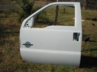USED  FACTORY LEFT(DRIVERS)SIDE FRONT DOOR SHELL FOR