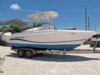 This 2004 23' Pro Line 230 Sport Center Console is