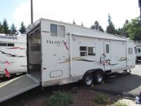 * 2004 28' JAYCO TALON ZX MODEL M-28 A TOY HAULER *