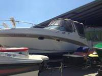 4 winns vista 268 only 150 hours on motor and 225 on